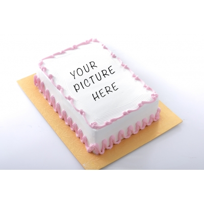 Picture on cake